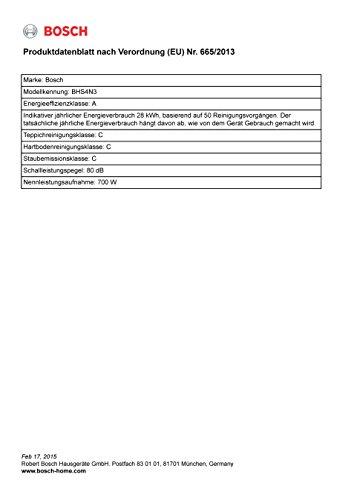 Scopa Elettrica Con Sacco Bosch Bhs4n3 Flexa